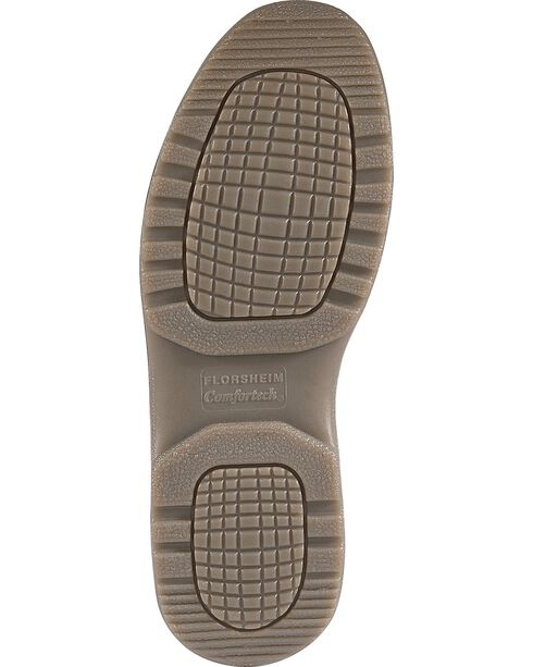 Florsheim Men's Compadre Oxford Work Shoes - Steel Toe, Brown, hi-res