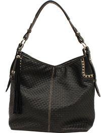 Blazin' Roxx Women's Basketweave Hobo Bag, , hi-res
