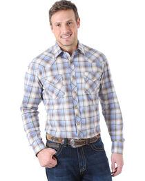Wrangler 20X Plaid Competition Long Sleeve Shirt, , hi-res