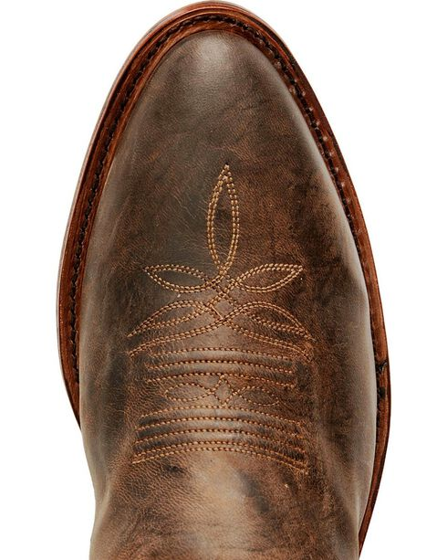 Tony Lama Men's El Paso Collection Western Boots, Chocolate, hi-res