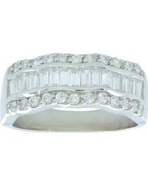 Montana Silversmiths Women's River of Light Ring, , hi-res