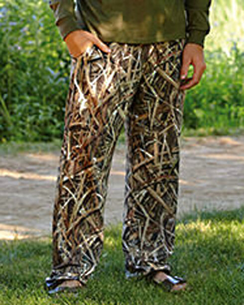 Wilderness Dreams Men's Mossy Oak ShadowGrass BLADES Camo Lounge Pants, Camouflage, hi-res