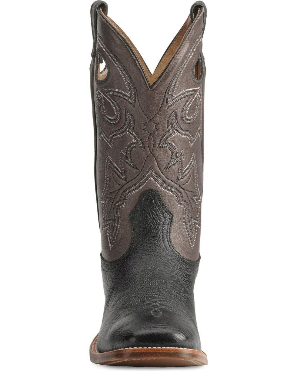 Boulet Cowboy Boots - Wide Square Toe, Black, hi-res