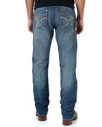 Rock 47 by Wrangler Men's Medium Straight Leg Jeans, Indigo, hi-res
