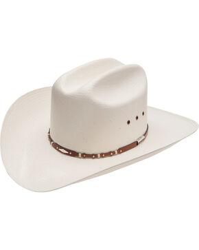 Stetson 10X Saddle Rock Straw Hat, Natural, hi-res