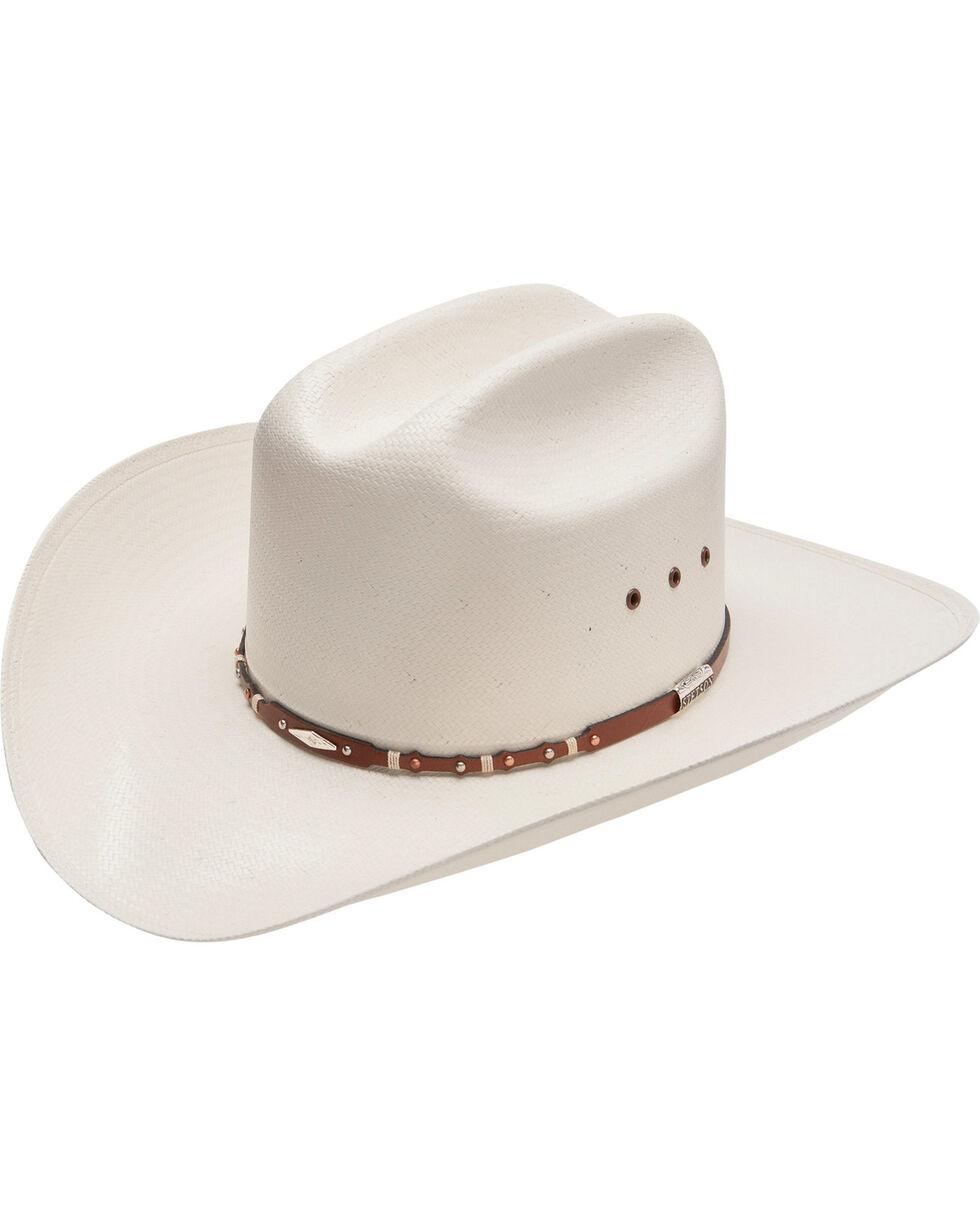Stetson 10X Saddle Rock Straw Hat, , hi-res