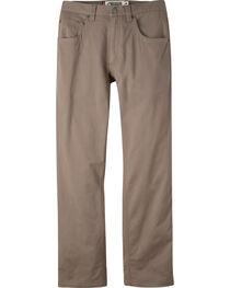 Mountain Khakis Men's Light Brown Camber Commuter Pants - Slim Fit , , hi-res