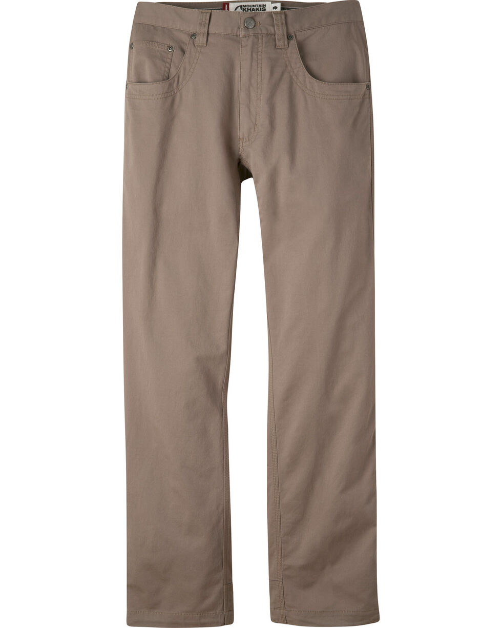 Mountain Khakis Men's Light Brown Camber Commuter Pants - Slim Fit , Light Brown, hi-res