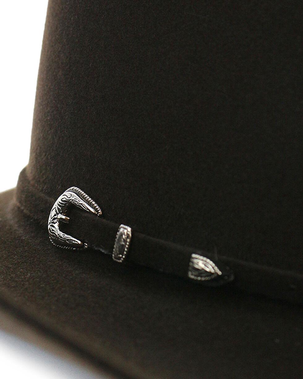 Rodeo King Men's Rodeo 5X Felt Cowboy Hat, No Color, hi-res