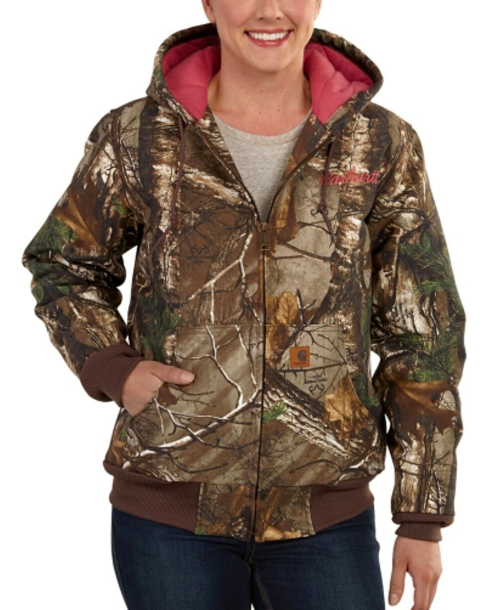Carhartt Women' Camo Work Jacket, Camouflage, hi-res