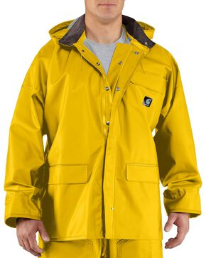 Carhartt Surrey Rain Coat - Big & Tall, Yellow, hi-res