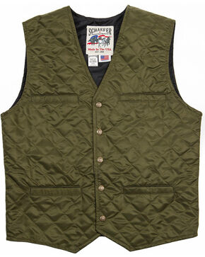 Schaefer Outfitter Men's Olive Canyon Vest -  Big 2X , Olive, hi-res