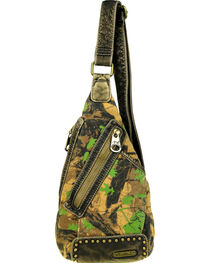 Montana West Camo Stone Washed Canvas Crossbody Sling Bag, , hi-res
