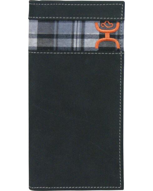 Hooey Men's Signature Rodeo Checkbook Wallet, Multi, hi-res