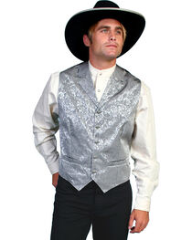 Scully Men's Silk Vest, , hi-res