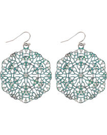 Shyanne® Women's Disc Earrings., , hi-res