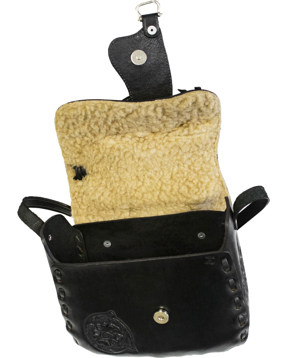 Western Express Women's Leather Saddle Bag, , hi-res