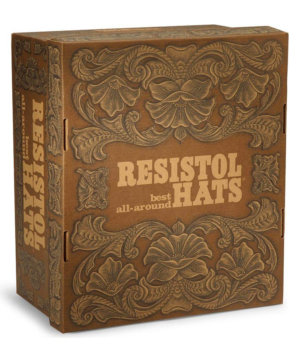 Resistol Hats Men's Black Gold Beaver Fur Felt Hat, Black, hi-res
