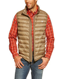 Ariat Men's Ideal Down Quilted Vest, , hi-res
