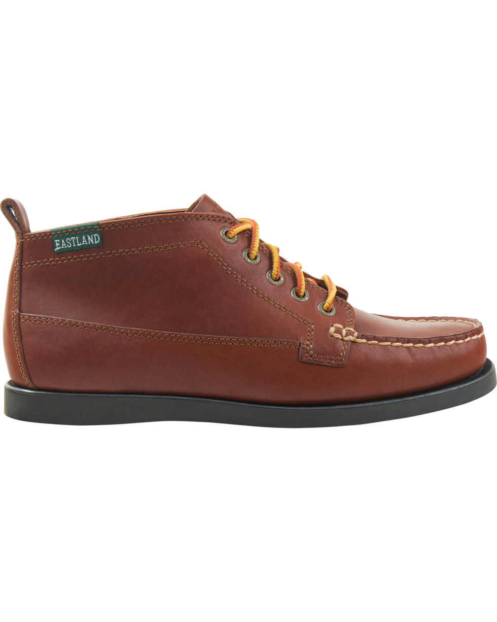 Eastland Women's Tan Seneca Camp Moc Chukka Boot, Tan, hi-res