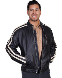Scully Sanded Calf Racing Jacket, , hi-res