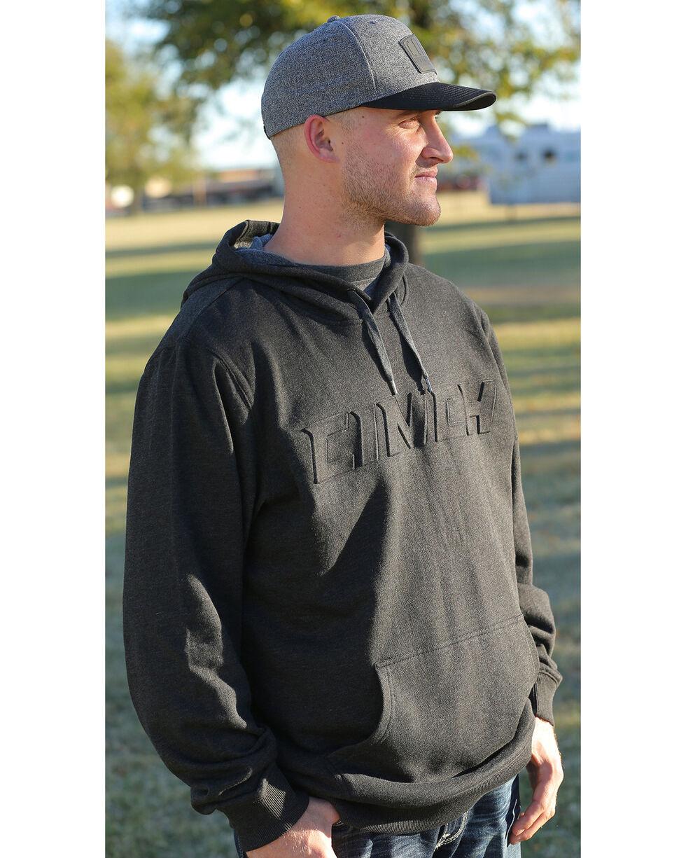 Cinch Men's Black Embossed Logo Hoodie, , hi-res