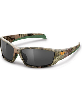 Mossy Oak Men's  Break-Up Infinity® Camouflage Trapline Sunglasses, Camouflage, hi-res
