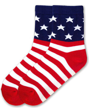 K-Bell Kids' Americana Socks, Multi, hi-res