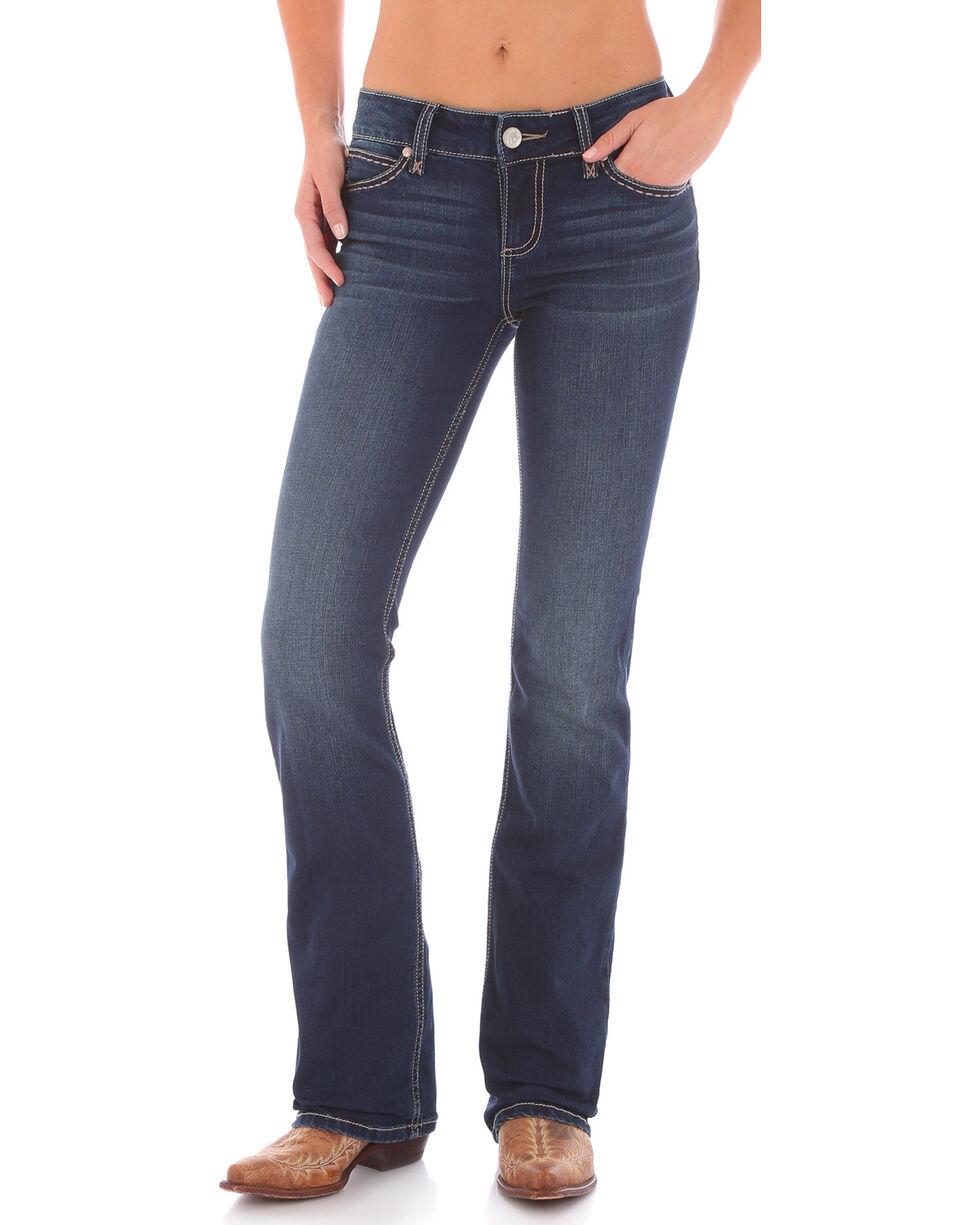 Wrangler Retro Women's Mid-Rise Boot Cut Jeans, , hi-res