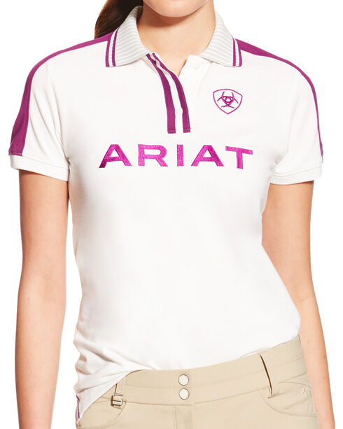 Ariat Women's FEI World Cup New Team Polo, , hi-res