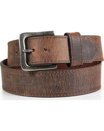 American Worker® Men's Wide Leather Belt, , hi-res