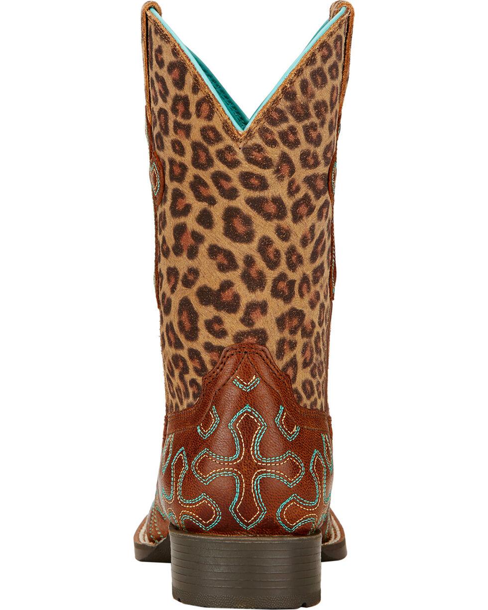 Ariat Kid's Crossroads Western Boots, Wood, hi-res
