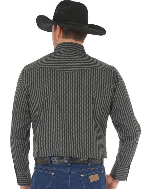 Wrangler Men's Black Silver Edition Long Sleeve Shirt , Black, hi-res