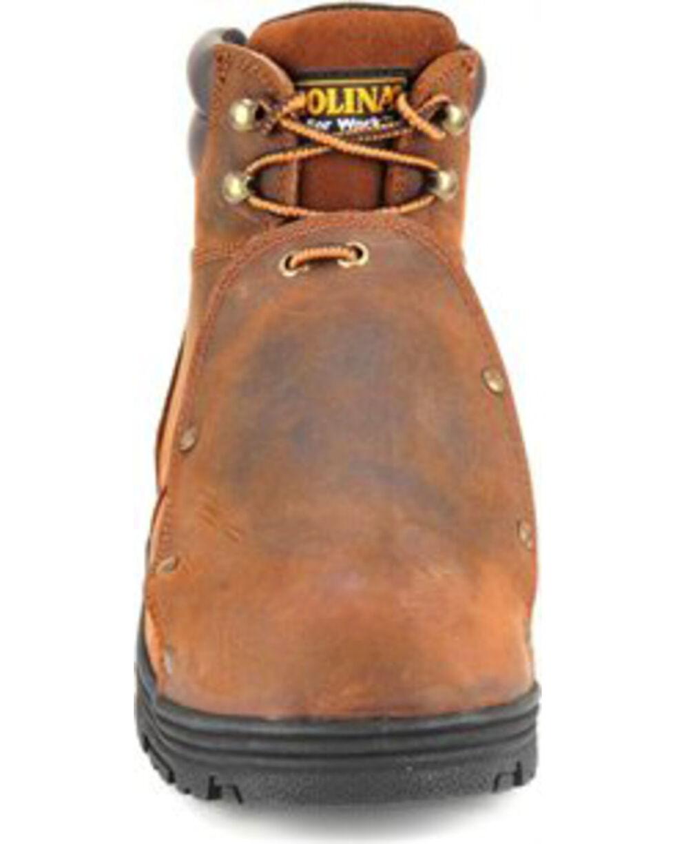 """Carolina Men's 6"""" External Metguard Work Boots, Brown, hi-res"""