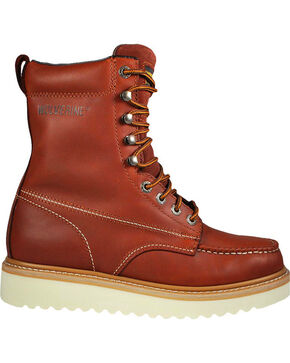 Wolverine Men's Moc-Toe Work Boots, Rust Copper, hi-res