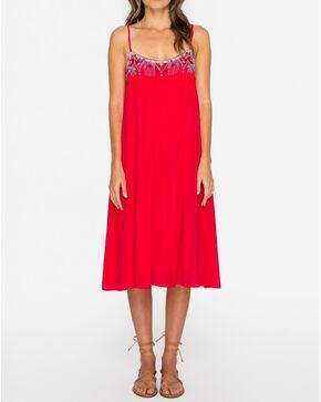Johnny Was Women's Pomegranate Lisa Babydoll Dress , Bright Pink, hi-res