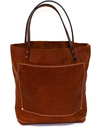 SouthLife Supply Women's Buffalo Brown Small Unstructured Tote, , hi-res