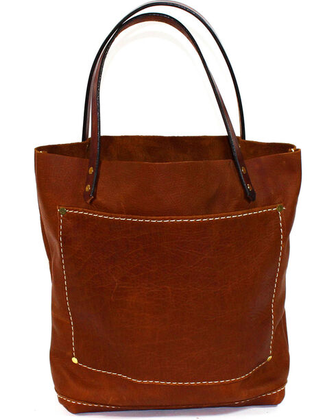 SouthLife Supply Women's Buffalo Brown Small Unstructured Tote, Lt Brown, hi-res