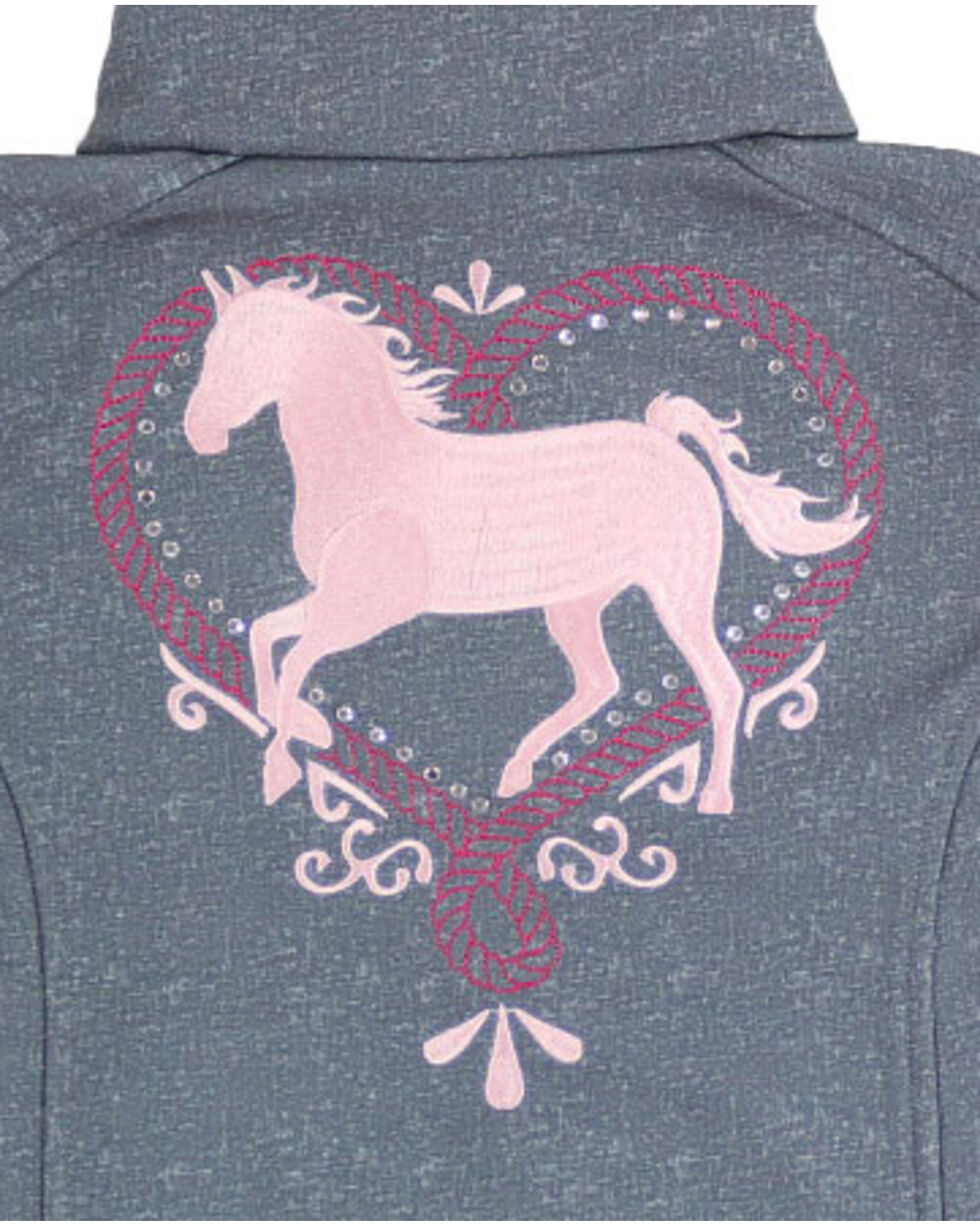 Shyanne® Girls' Sparkle Horse Jacket, , hi-res
