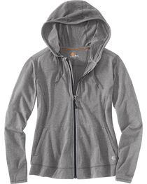 Carhartt Women's Plain Zip-Up Sweater, , hi-res