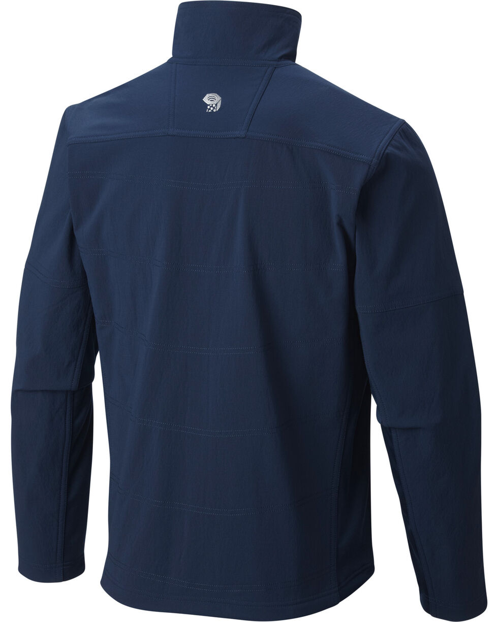 Mountain Hardwear Men's Ruffner Hybrid Jacket, Navy, hi-res