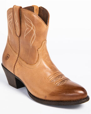 Ariat Women's Darlin Booties, Brown, hi-res