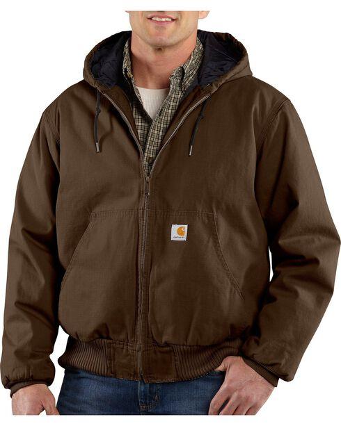 Carhartt Ripstop Active Jacket - Big & Tall, Dark Brown, hi-res