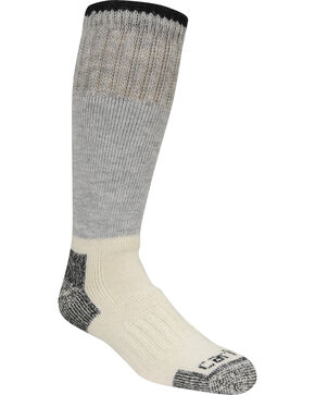 Carhartt Arctic Wool Heavyweight Boot Socks, Black, hi-res