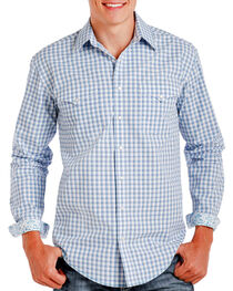 Rough Stock by Panhandle Men's Checkered Patterned Long Sleeve Shirt, , hi-res