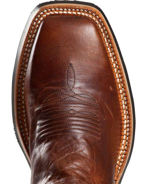 Cinch Men's Classic Goatskin Western Boots, Brown, hi-res