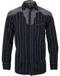 Rock Roll n Soul Men's County Bars Long Sleeve Shirt, , hi-res