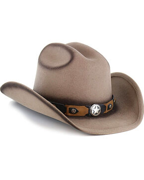 Cody James® Boys' Yearling Wool Hat, Tan, hi-res
