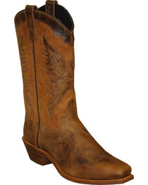 "Sage by Abilene Women's 11"" Eagle Underlay Western Boots - Square Toe, , hi-res"