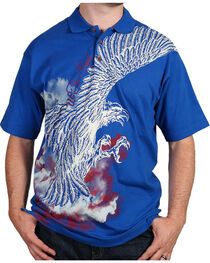Cody James® Men's Screaming Eagle Polo, , hi-res